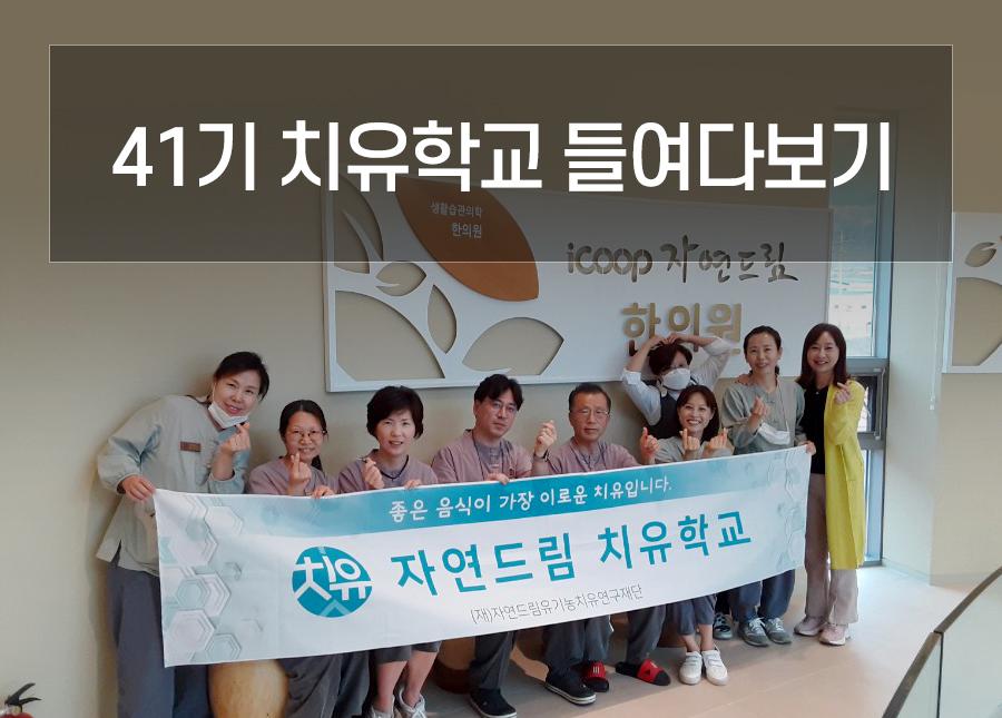 41기 치유학교 들여다보기 ♥ (참가자 후기有)